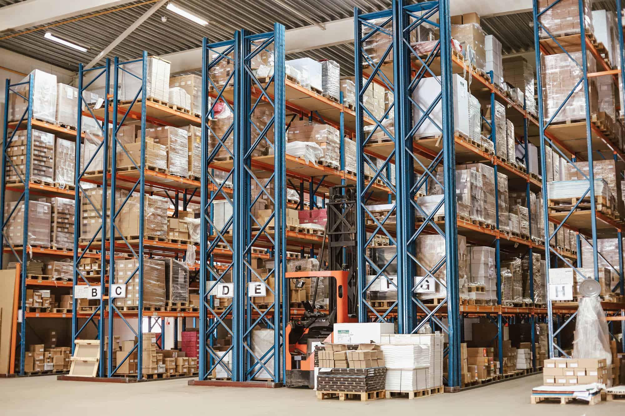 logistieke afdeling